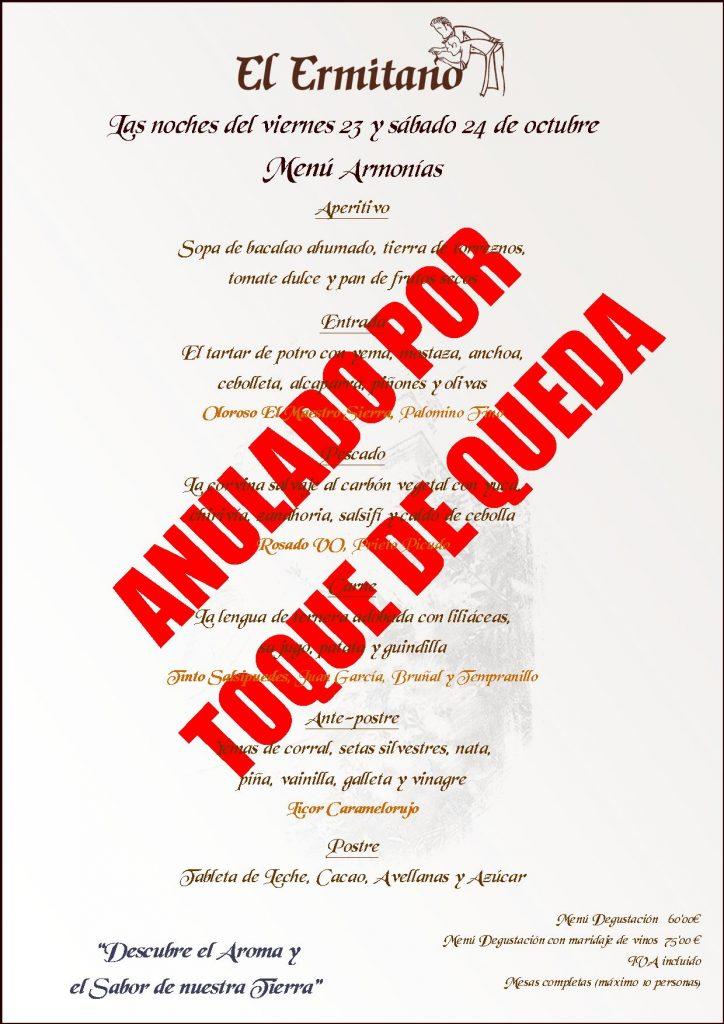 ARMONIAS ANULADO