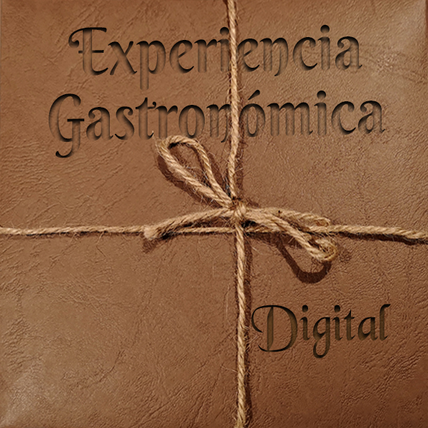Tarjeta digital experiencia gastronómica