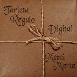 Tarjeta digital menú Marta