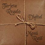 Tarjeta digital menú Raúl
